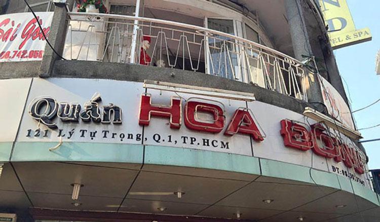 Bun cha hoa dong restaurant