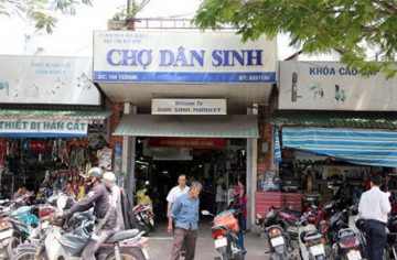 Dan Sinh Market (Residential Market) – An interesting shopping place