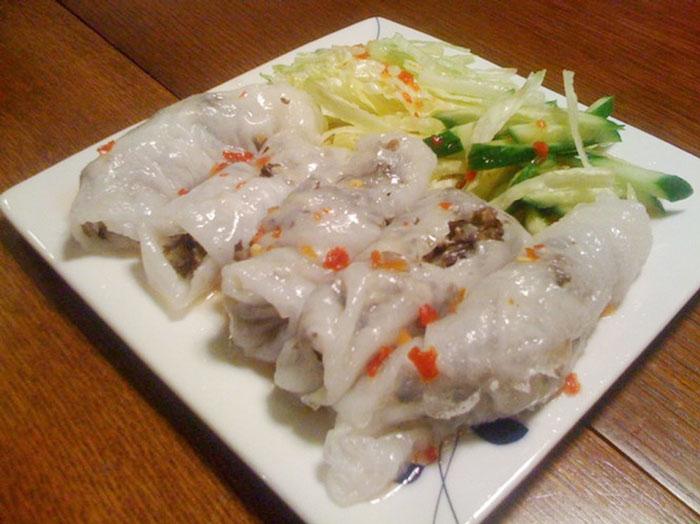 Banh cuon – Vietnamese stuffed pancake