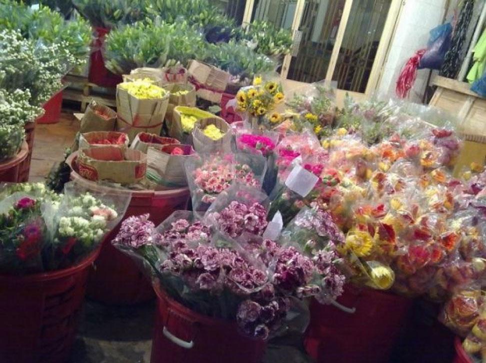 Ho Thi Ky Flower Market