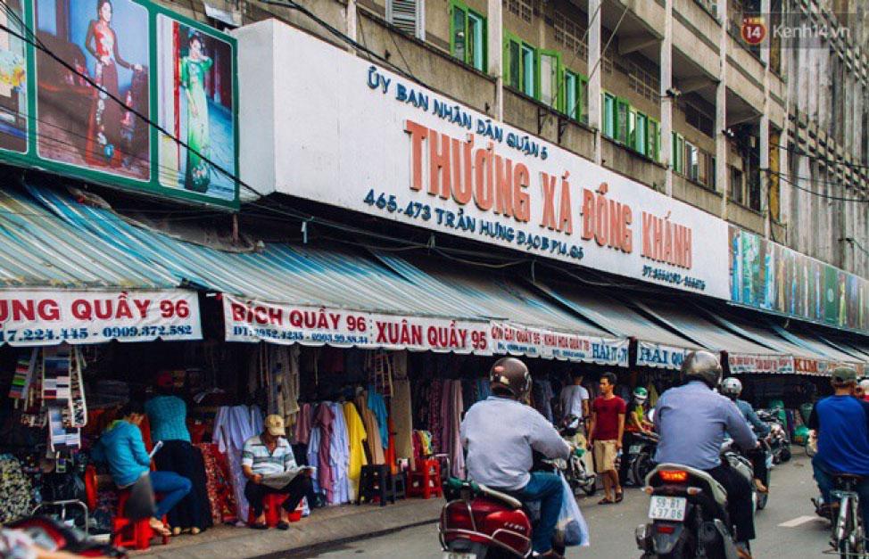 Soai Kinh Lam Cloth Market