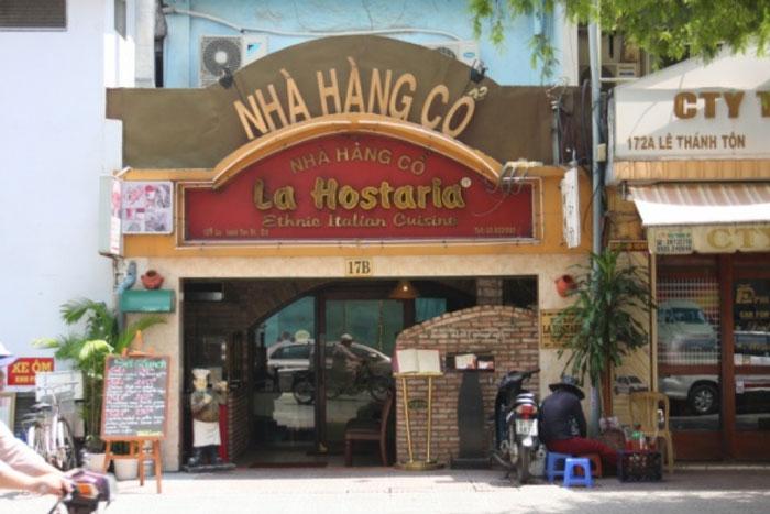 Original Italian Pizza and Ambience in Ho Chi Minh City (La Hostaria)