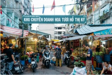 How to get to Ho Thi Ky flower market – Ho Chi Minh City?
