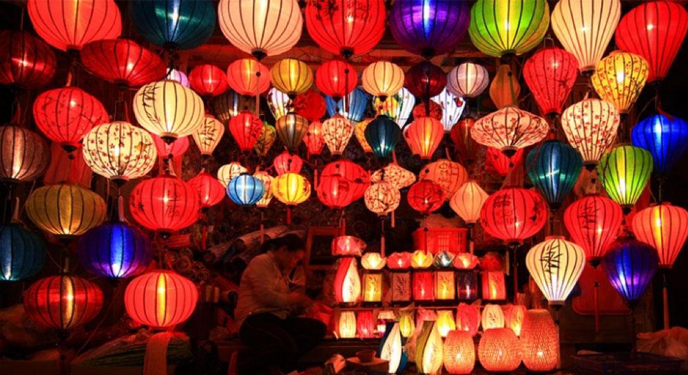 lanterns Hoi An ancient town