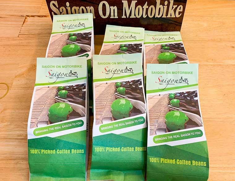 Saigon On Motorbike Coffee