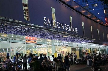 Saigon Square – A shopping paradise in Saigon