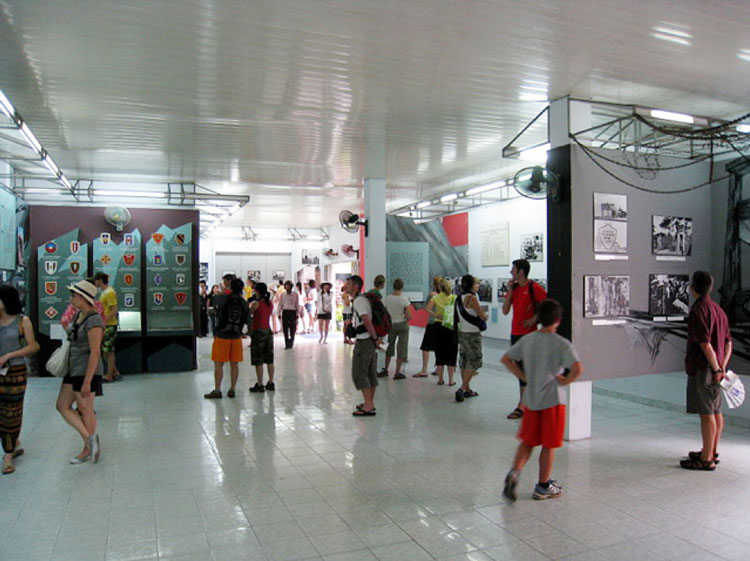 The main hall in War Remnants Museum