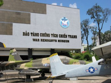 Saigon War Remnants Museum in ho chi minh city