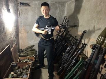 Secrets hidden inside an armory right between modern Saigon